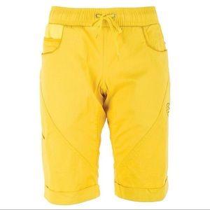 New La Sportiva Women's Siurana Short Yellow